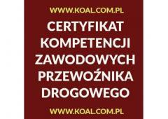 Certyfikat Kompetencji Zawodowych Przewoźnika Drogowego Lublin