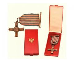 Kupie wojskowe stare odznaczenia, odznaki, medale, ordery