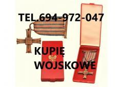 Kupię stare wojskowe odznaczenia, odznaki, medale, ordery